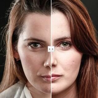 Maquiagem HD não é só para estrelas de TV - veja o antes e depois