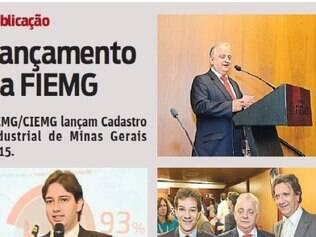 FIEMG/CIEMG lançam Cadastro Industrial de Minas Gerais 2015.