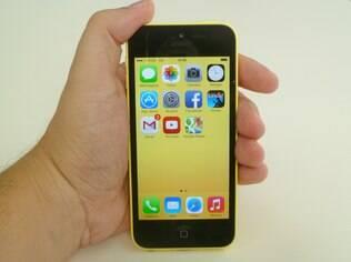 Tela do iPhone 5C tem excelente qualidade de imagem
