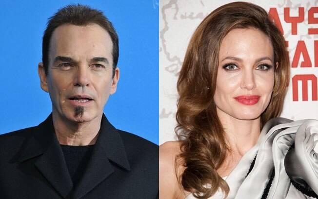 Billy Bob Thornton com a ex Angelina Jolie: amigos até hoje
