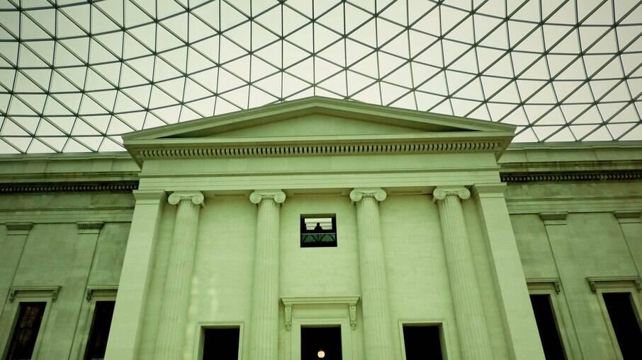 Museu Britânico de dentro