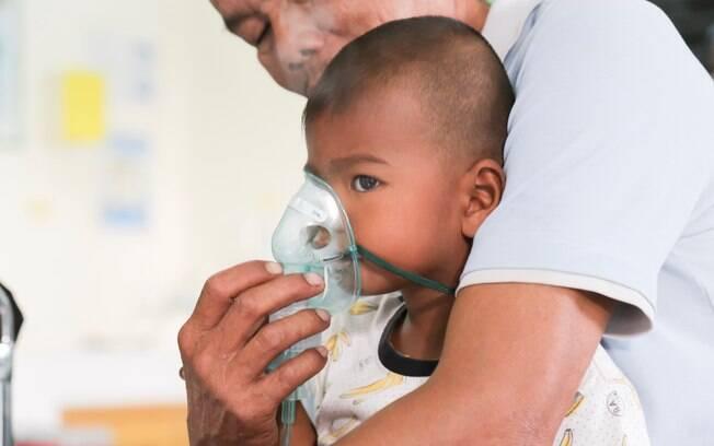 Crianças e idosos são as principais vítimas de doenças respiratórias durante o outono e inverno