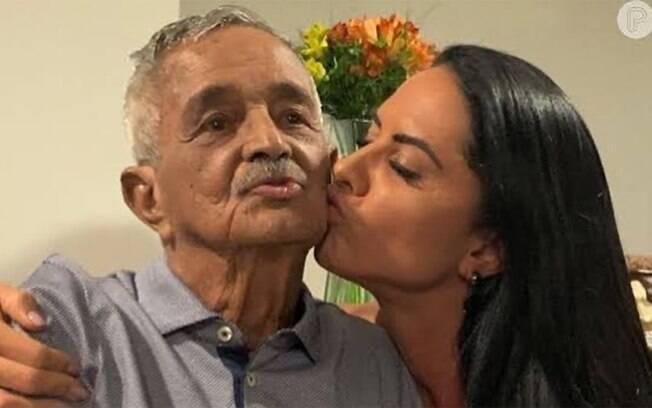 Graciele Lacerda escreve texto em homenagem a Seu Francisco