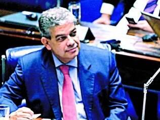 Resposta. Marcus Pestana entrou com representação contra o peemedebista na Câmara Federal