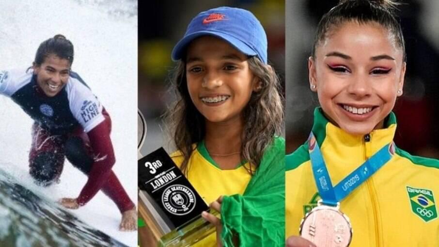 Mulheres nas olimpíadas