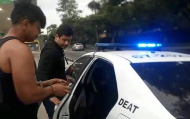 Maurício foi preso no último sábado (24).