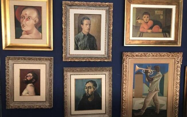 Obras de arte apreendidas no apartamento de secretário de Saúde do Pará, Alberto Beltrame