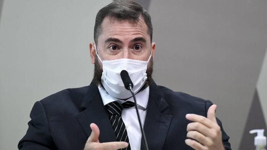 Médico Francisco Cardoso Alves na CPI da Covid