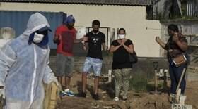 Brasil registra 2.616 mortes em 24 horas e ultrapassa 350 mil