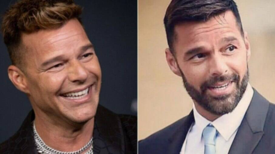 Ricky Martin nega mudança no rosto
