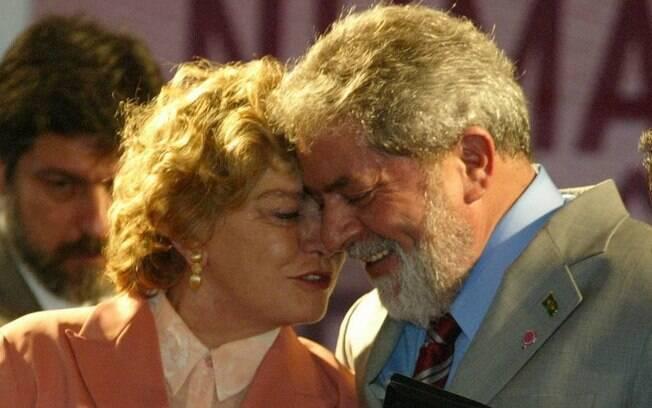 Marisa letícia e Lula