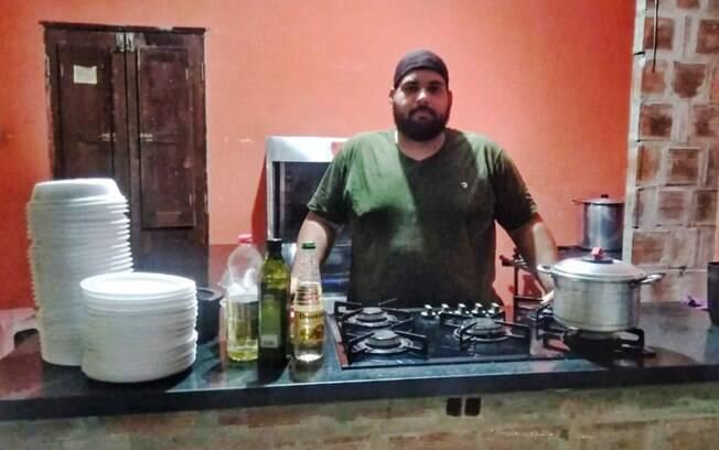 Anderson Roberto, comerciante de São Lourenço da Mata