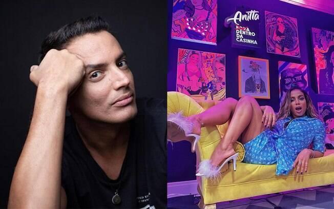 Anitta e Leo Dias