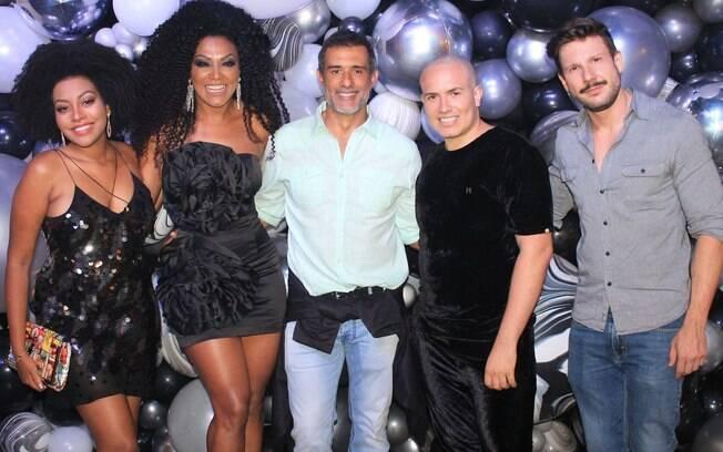 Mahryan e Simone Sampaio, Marcos Pasquim, Júnior Pacheco e Rafael Pessina