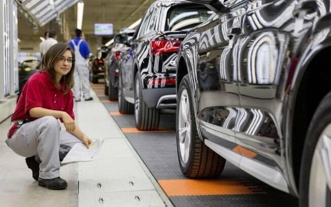 Fábrica da Audi no México, onde o SUV Q5 é produzido; enquanto isso, o complexo de São José dos Pinhais (PR) vive na incerteza