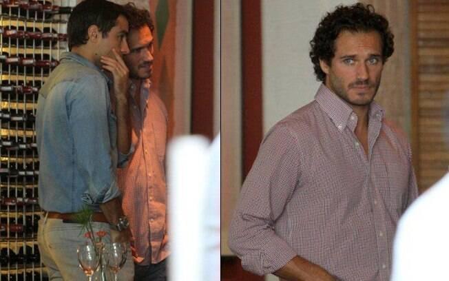 Ricardo Pereira e Paulo Rocha: bons amigos