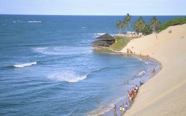 Genipabu, uma das mais belas praias do Rio Grande do Norte