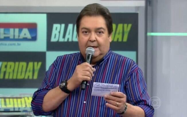 Faustão chamou o Brasil de