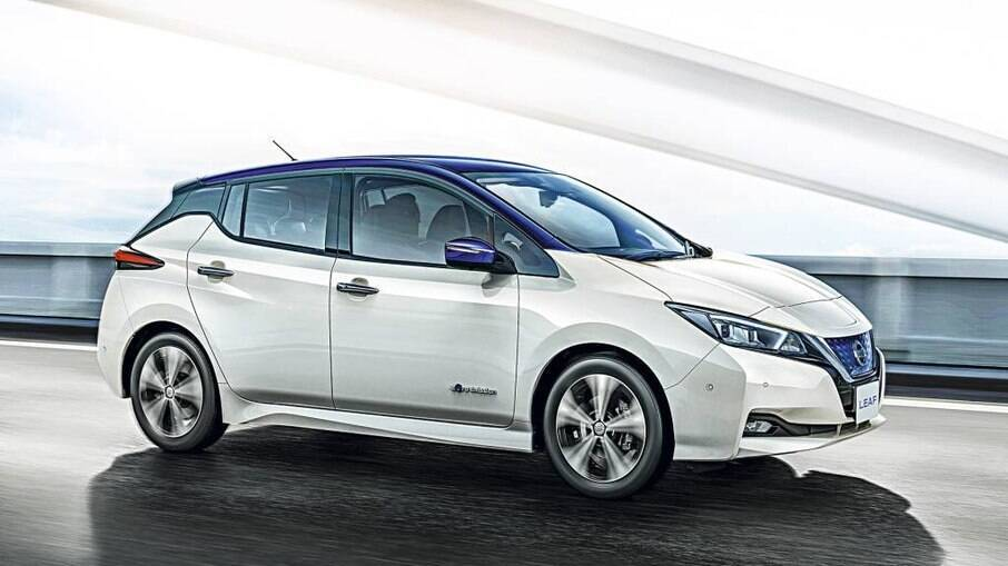 Nissan Leaf: destaque na Europa, mas o modelo ainda  é pouco conhecido no Brasil
