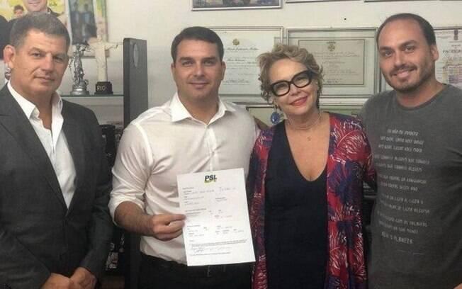 Ex-mulher do atual presidente terá cargo no gabinete do deputado Anderson Moraes