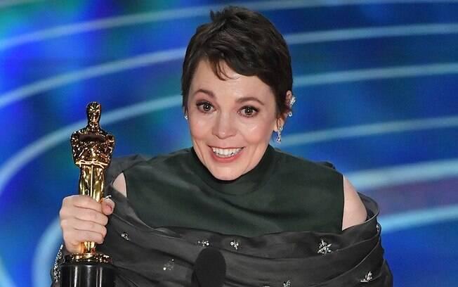 Olivia Colman triunfou na categoria de Melhor Atriz por