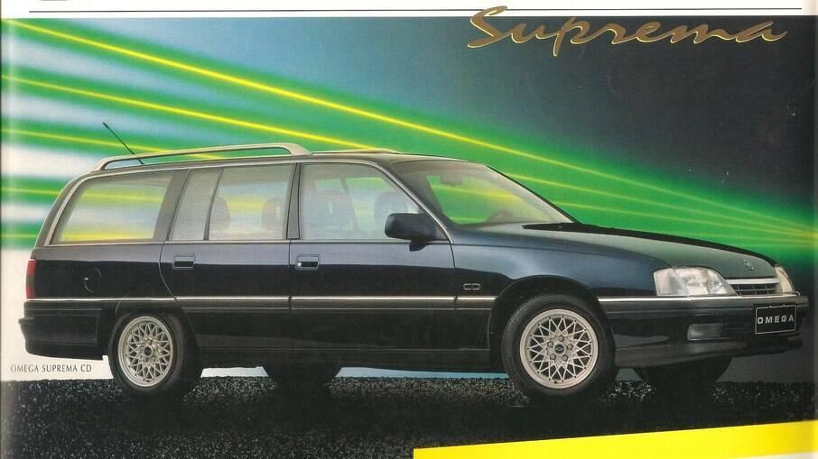 Chevrolet Omega Suprema também era oferecida nas versões GL, GLS e CD (foto)