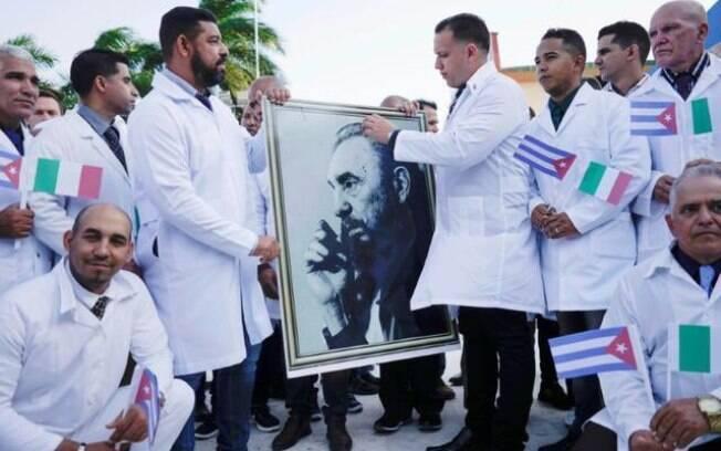 Médicos cubanos na Itália