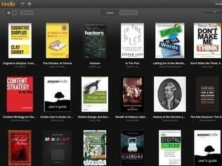 Kindle Cloud Reader permite ler livros em um web app a partir de qualquer dispositivo
