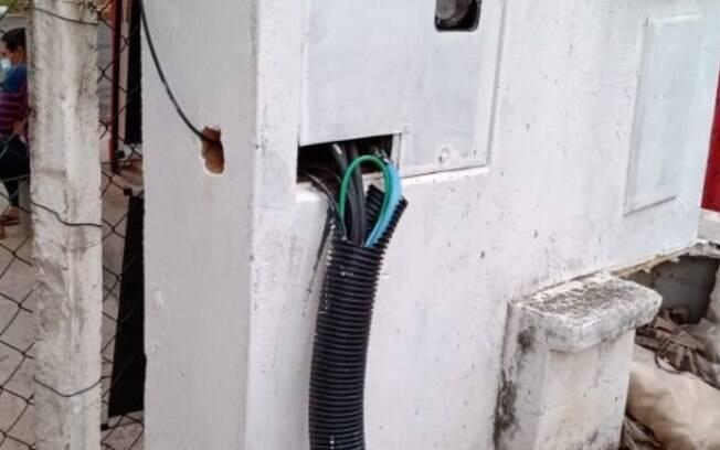 Após reforma, CS mantém instalação elétrica precária