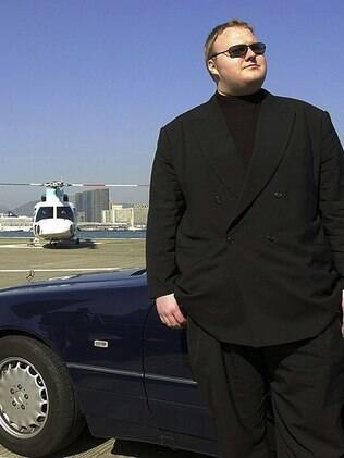 Kim DotCom, do Megaupload: programador gostava de exibir suas aquisições na web