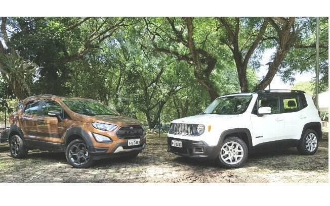 Ford EcoSport Storm vem mais bem equipado e com tração 4x4 como aliados na briga com o rival da Jeep