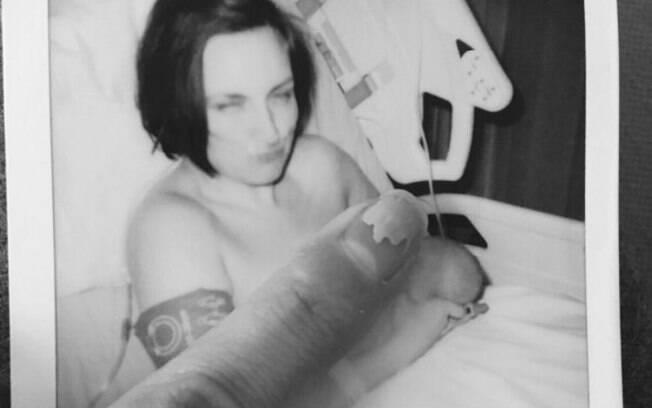 Laura relatou sua experiência com a psicose pós-parto, que classificou como o pior momento de sua vida inteira