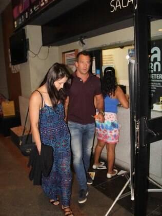 Malvino Salvador e Kyra Gracie