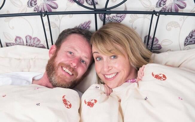 O casal Marian Keogh e Dermot Keogh aceitaram o desafio de fazer sexo por duas semanas seguidas