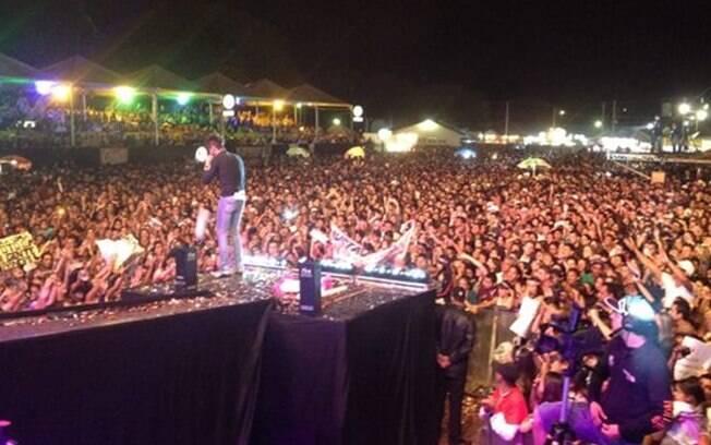 Show de Gusttavo Lima em Bauru, nesse sábado (11)