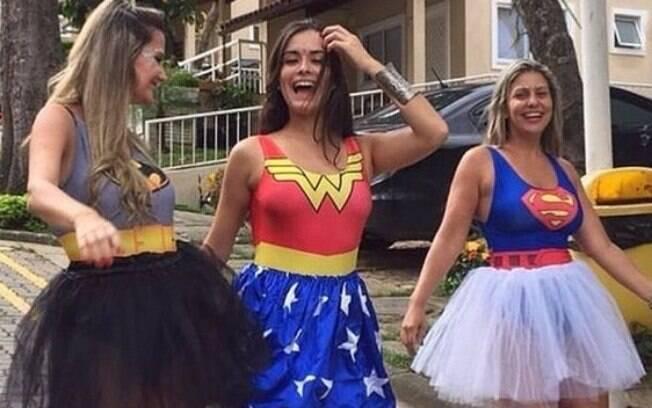 Quer combinar as fantasias de carnaval com as amigas? Que tal fazer um grupo super-poderoso inspirado em heroínas?