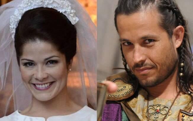Samara Felippo e Roger Gobeth: clima ruim no Twitter