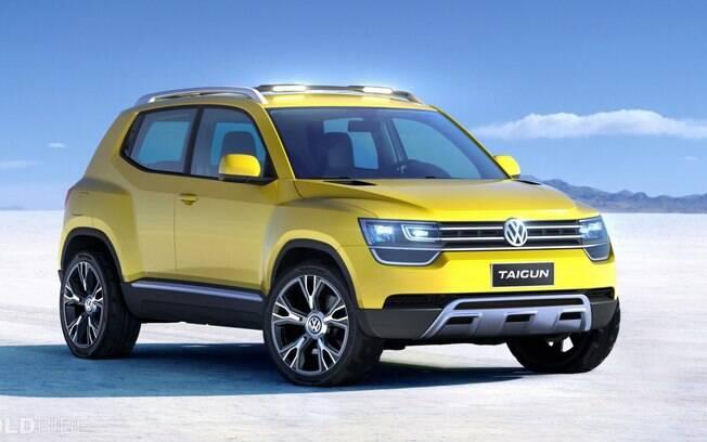 VW Taigun é o protótipo do T-Track, que poderá concorrer com o mini SUV da Jeep, entre outros