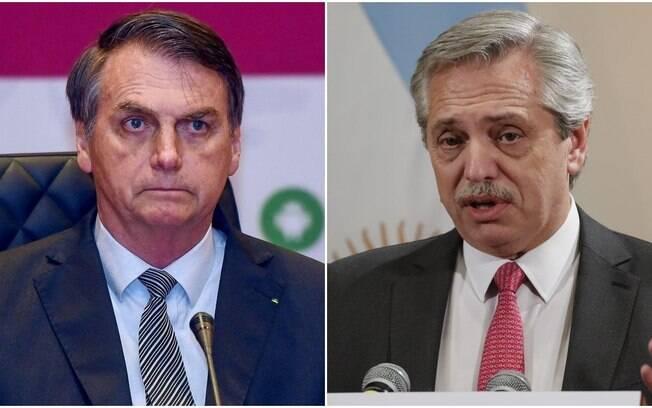 Alberto e Bolsonaro