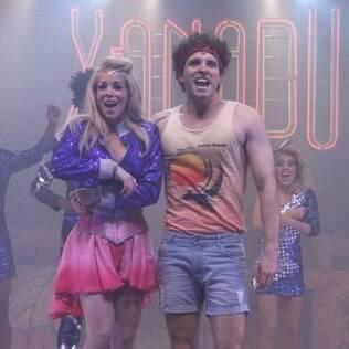 Danielle Winits e Thiago Fragoso