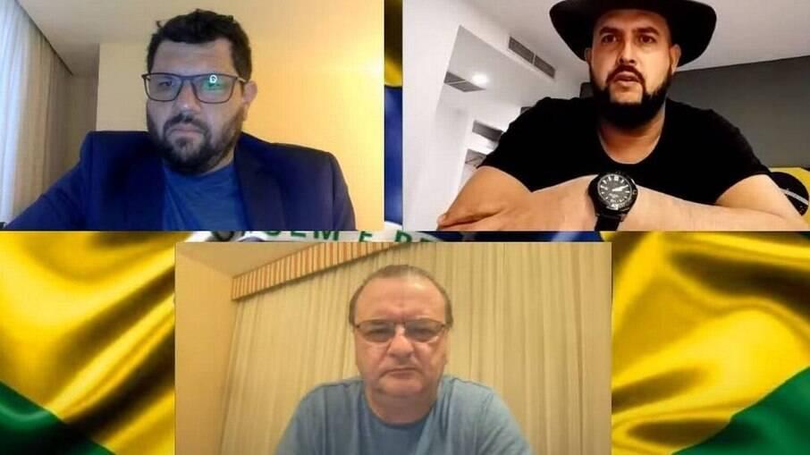 Zé Trovão dribla proibição do STF e faz nova incitação em rede social