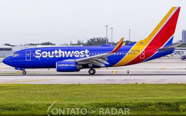 Southwest Airlines registra primeiro prejuízo anual em 48 anos