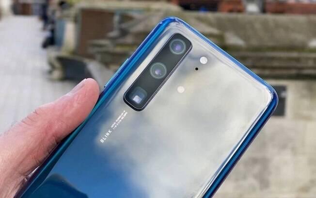 Huawei P40 tem design vazado