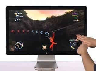 Games otimizados para uso de gestos poderão ser controlados com movimentos das mãos