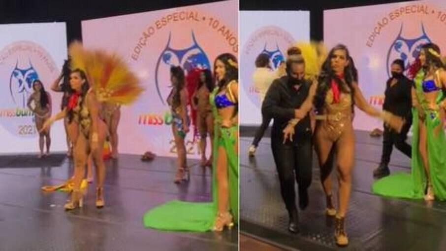 Taty Sindel se revolta com resultado do Miss Bumbum
