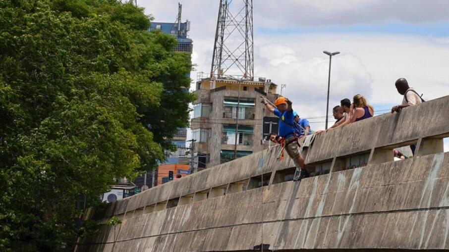 Viaduto Sumaré, em São Paulo