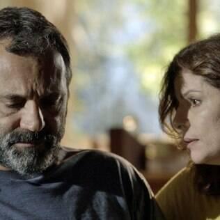 Miguel (Domingos Montagner) e Lígia (Débora Bloch) formaram casal central da trama