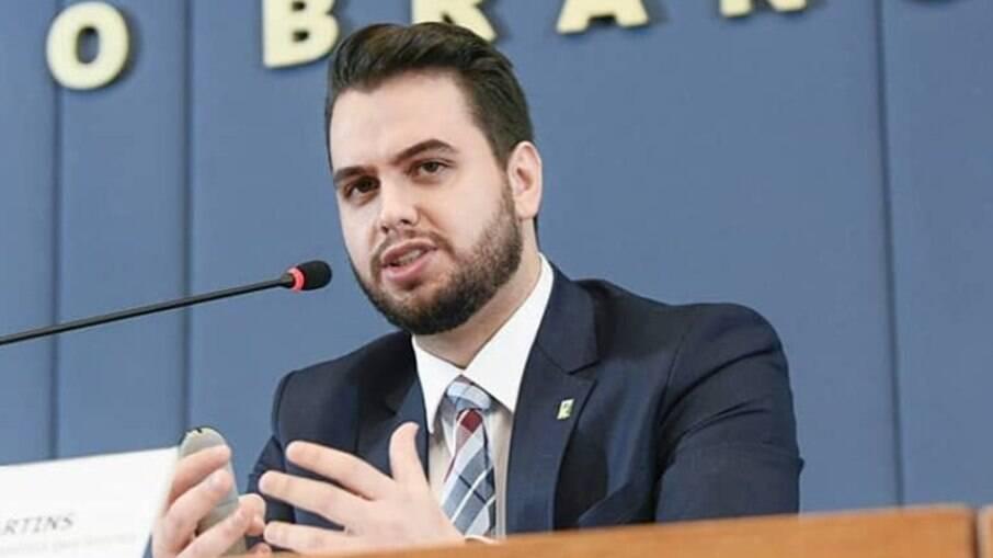 Assessor internacional Filipe Martins