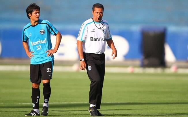 Luxemburgo conversou com Bertoglio para  definir aproveitamento de meia argentino