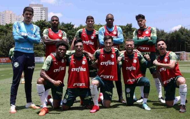 Luiz Adriano retorna e Palmeiras encerra preparao para confronto contra Internacional